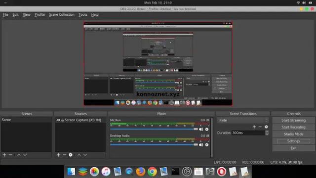 تحميل برنامج OBS Studio