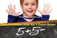 Pelan Pendidikan Anak AIA A-Enrich Rezeki