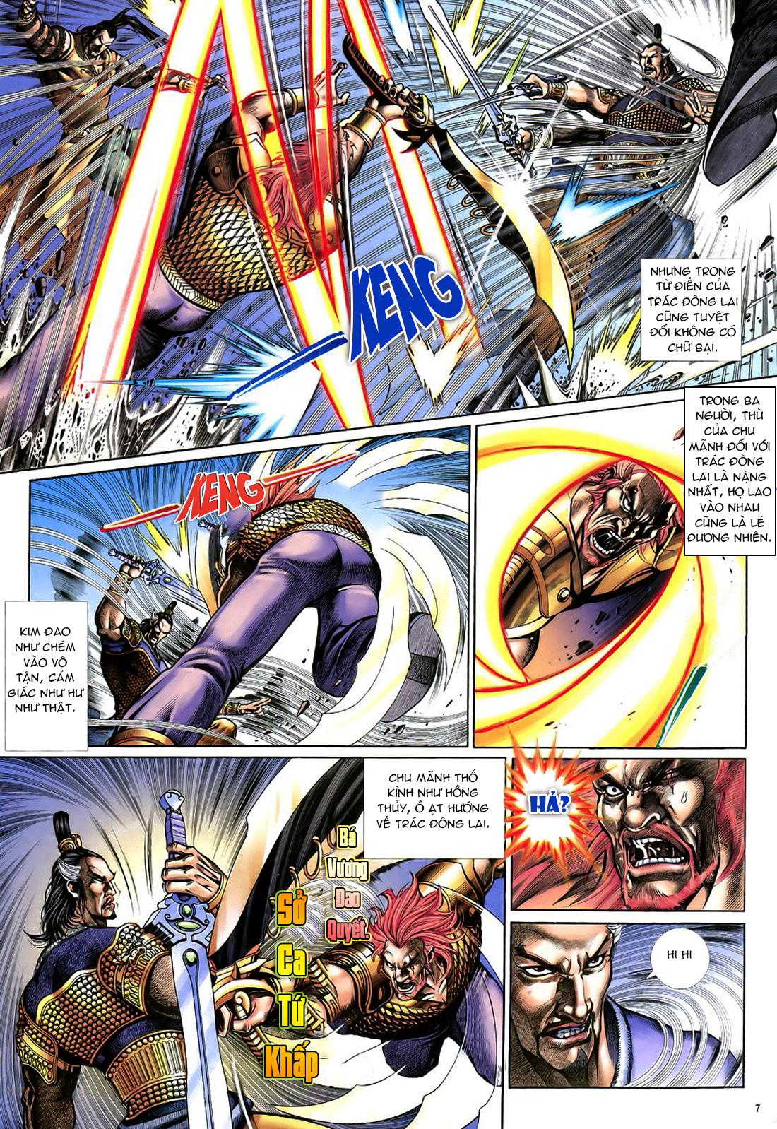Anh hùng vô lệ Chap 22 trang 8