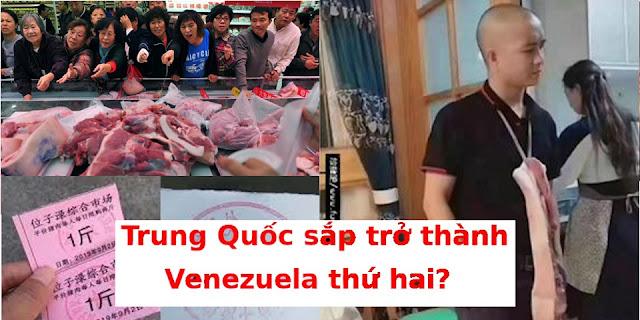 Điên cuồng tranh cướp thịt lợn: Trung Quốc sắp trở thành Venezuela thứ hai?