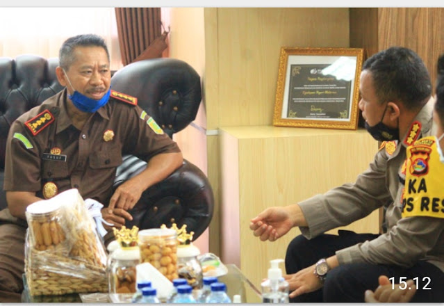 Kapolresta Kunjungi Kejari Mataram untuk Sinergitas dan Penguatan Penegakan Hukum