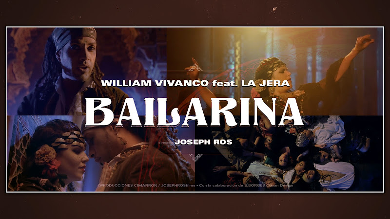 William Vivanco & La Jera - ¨Bailarina¨ - Videoclip - Director: Joseph Ros. Portal Del Vídeo Clip Cubano