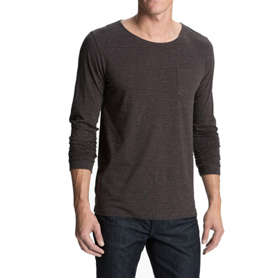 Grey Full Sleeves Casual T Shirt for Men