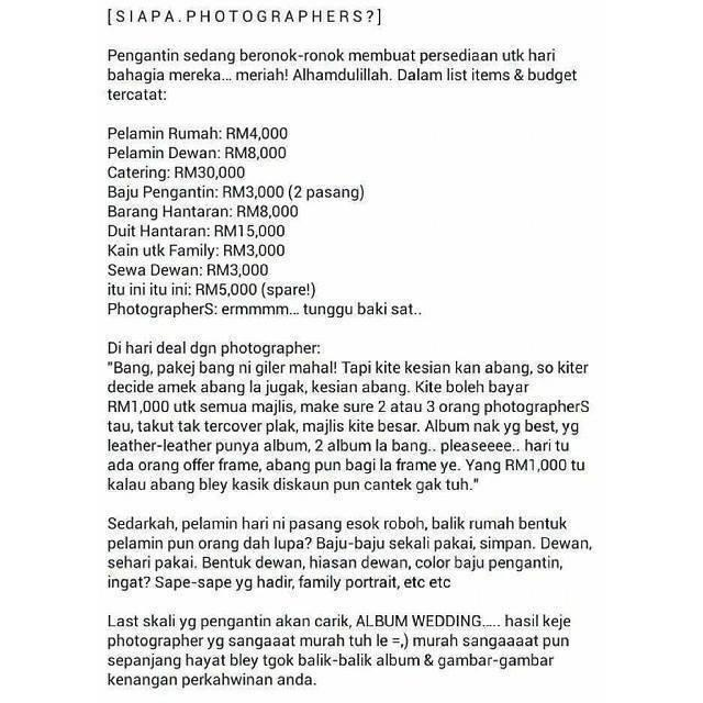 Siapa Photographer?