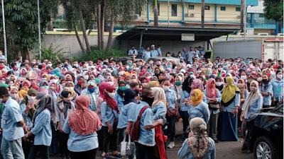 Pabrik Sepatu di Tangerang PHK 2.000 Pekerja Karena Realokasi Pabrik