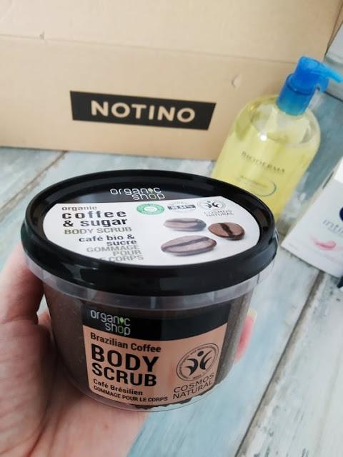 Organic Shop Organic Coffee & Sugar kávový telový peeling