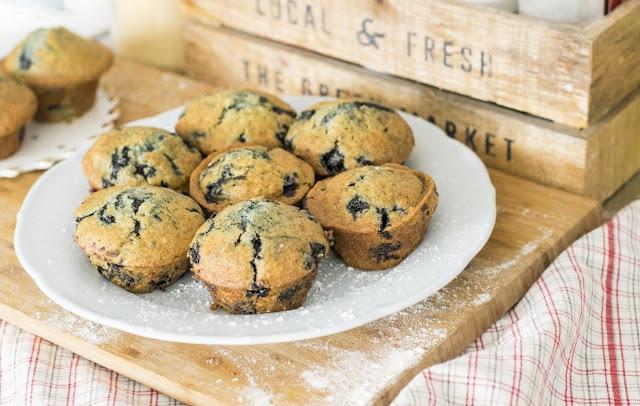berries muffin
