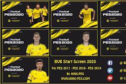 Borussia Dortmund Start Screen Pack - PES 2017