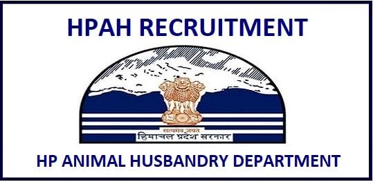 HP Animal Husbandry Attendant Recruitment 2020