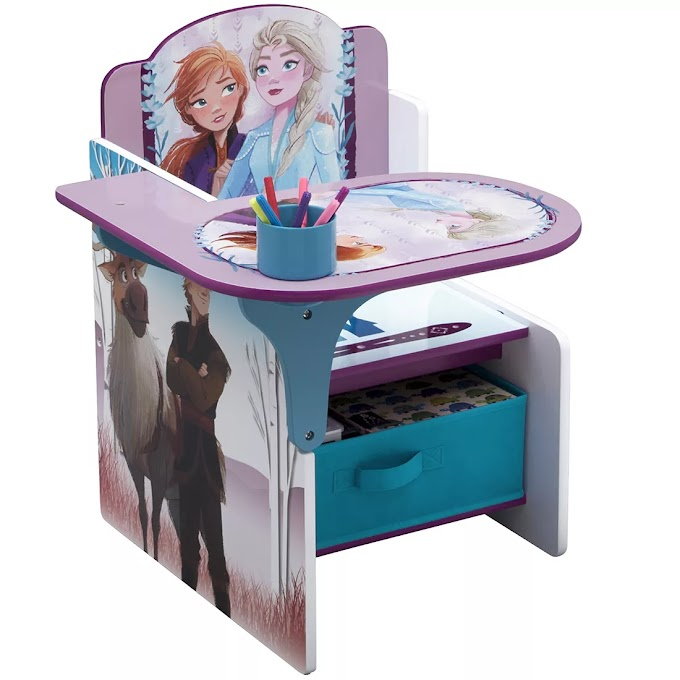 Children Chair Desk with Storage Bin, review