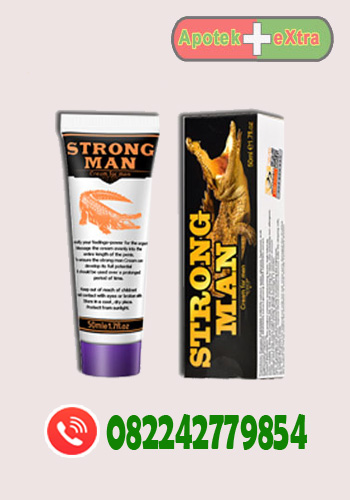 pemnesar penis oles, obat strong man cream, strong man cream, cream strong man
