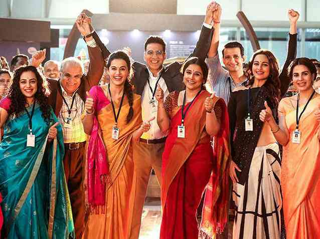 Mission Mangal Box Office Collection Day 5: Akshay Kumar's 'Mission Mangal' joins the 100 crore club on the fifth day