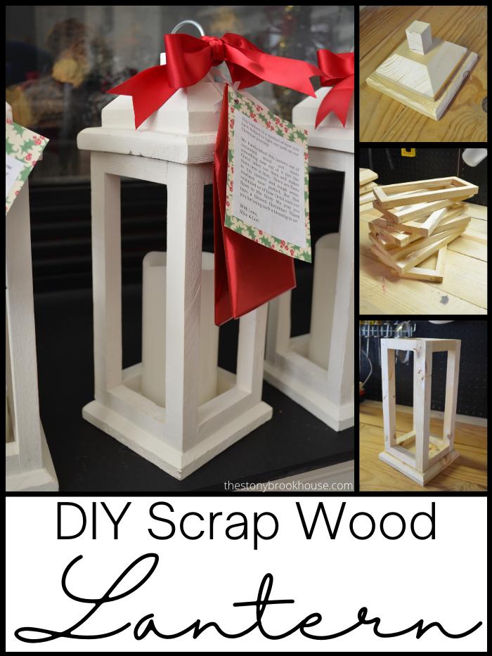 DIY Scrap Wood Lanterns