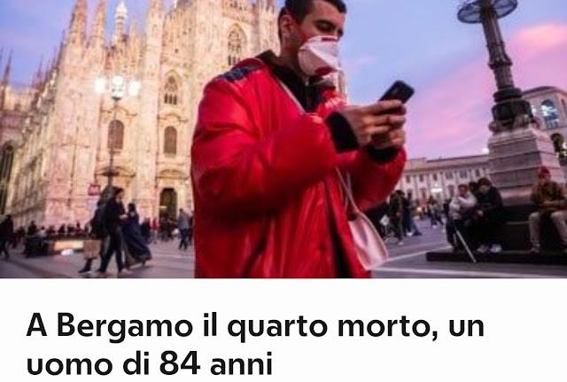 وفاة رابع شخص بفيروس كورونا بإيطاليا، وعدد المؤكد إصابتهم بالفيروس يتجاوز 200 مصاب