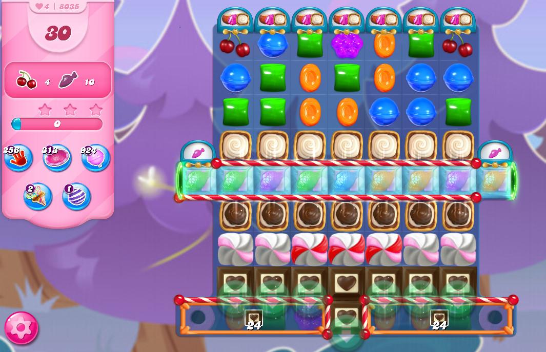 Candy Crush Saga level 8035