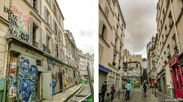 Grafites em Montmartre, Paris