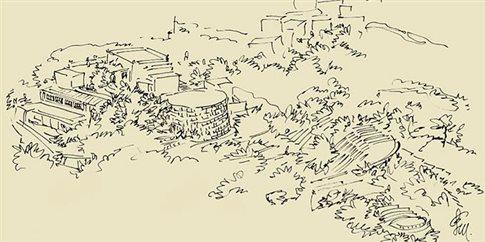 Το Μουσείο Φαλτάιτς από τη Σκύρο στο Λουτρό των Αέρηδων