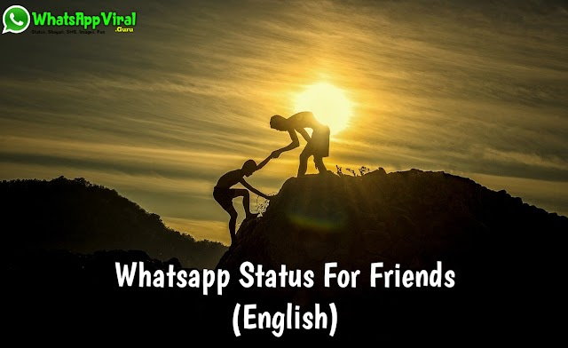 New Whatsapp Status For Friends 2020