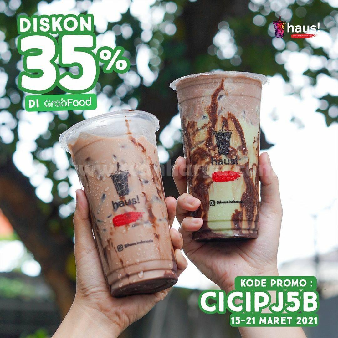 HAUS! Promo Diskon 30% pemesanan via Aplikasi GRABFOOD