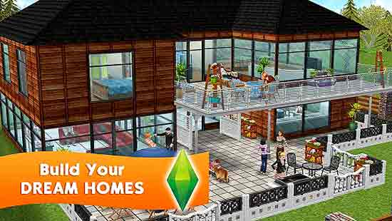 The Sims FreePlay Mod Apk For Mobile
