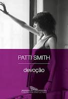 Capa do livro Devoção, de Patti Smith (Companhia das Letras)