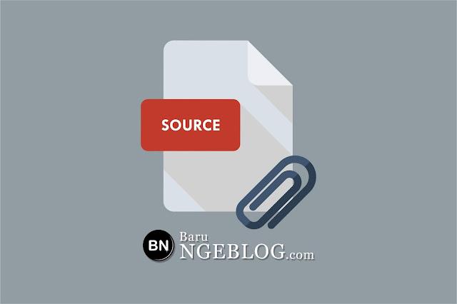 Membuat Sumber Link Otomatis Saat Artikel di Copy Paste