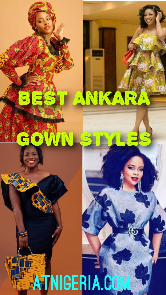 Latest Ankara Gown Styles for 2020