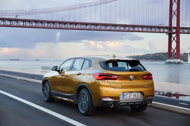 BMW X2: novas imagens reveladas