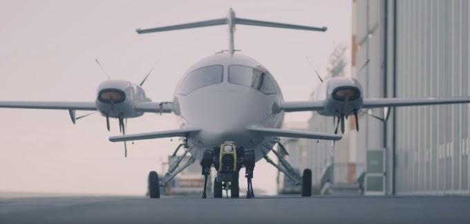Força bruta! Robô consegue puxar sozinho um avião de 3 toneladas (video)