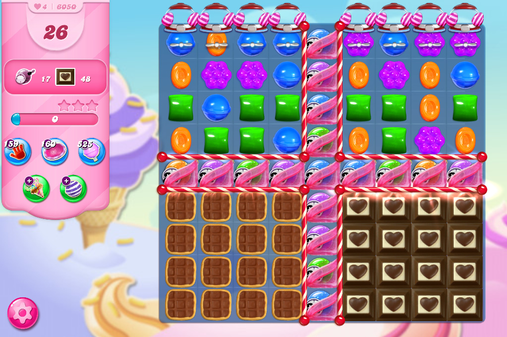 Candy Crush Saga level 6050