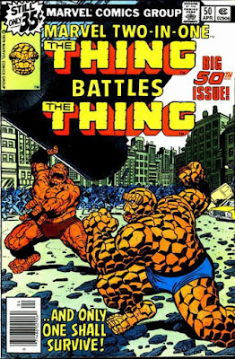 Marvel Two-In-One #50, Thing vs Thing