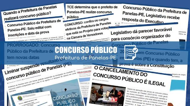 Concurso Público - Prefeitura de Panelas-PE