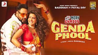 Genda Phool By Badshah - Lyrics
