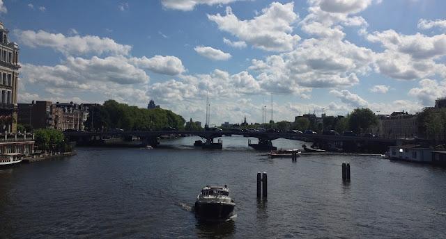 River Amstel Amsterdam