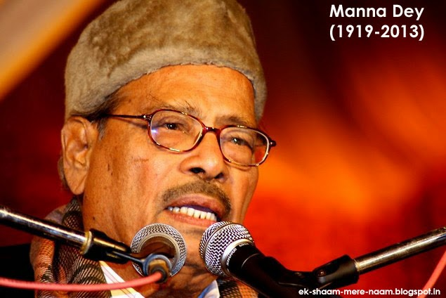 Ek Shaam Mere Naam: Manna Day (1919-2013) : We will never ...