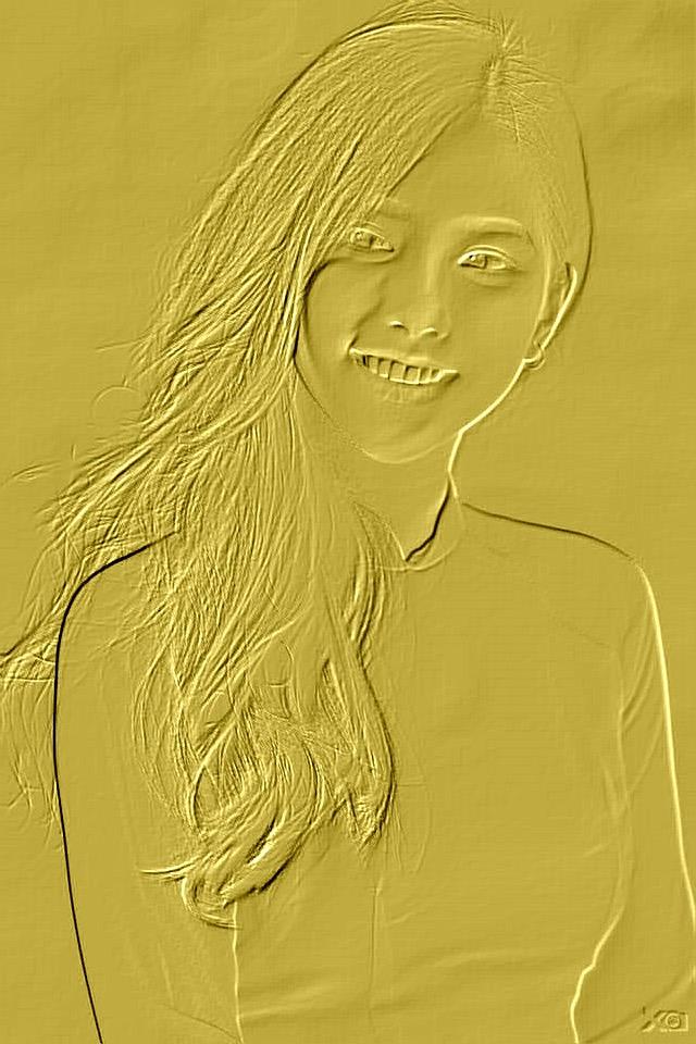 Golden Women Art