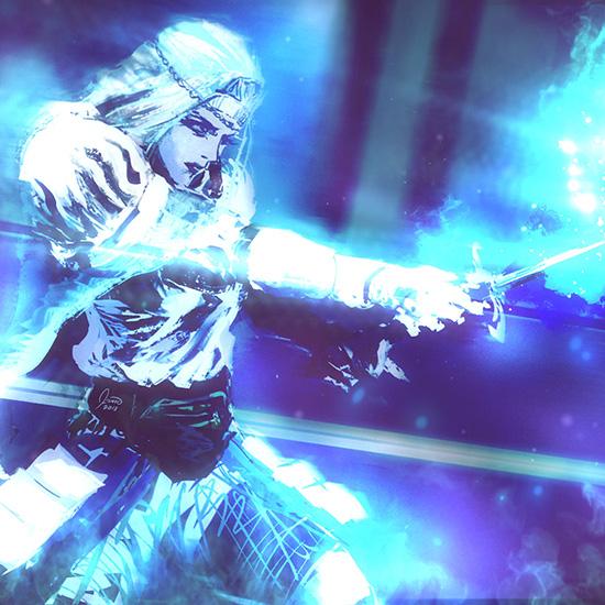 Darkmoon Blade Sirris Wallpaper Engine