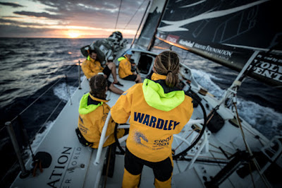 Turn The Tide On Plastic sur la Volvo Ocean Race