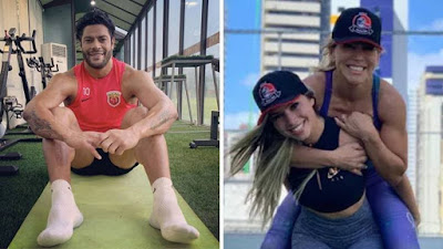 Image result for Brazilian Striker, Hulk Dumps His Wife Of 12 Years For Her Little Niece