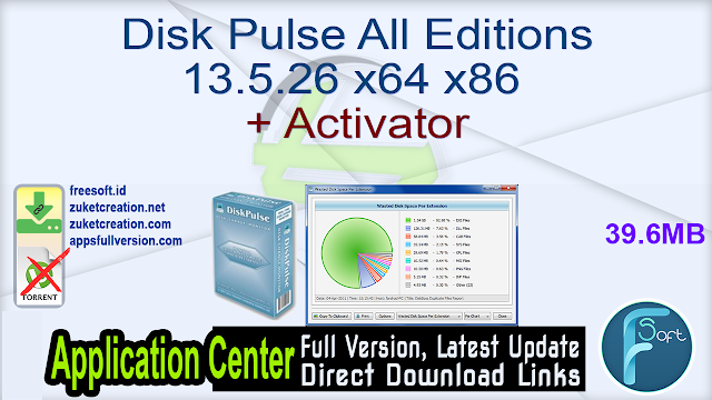 Disk Pulse All Editions 13.5.26 x64 x86 + Activator