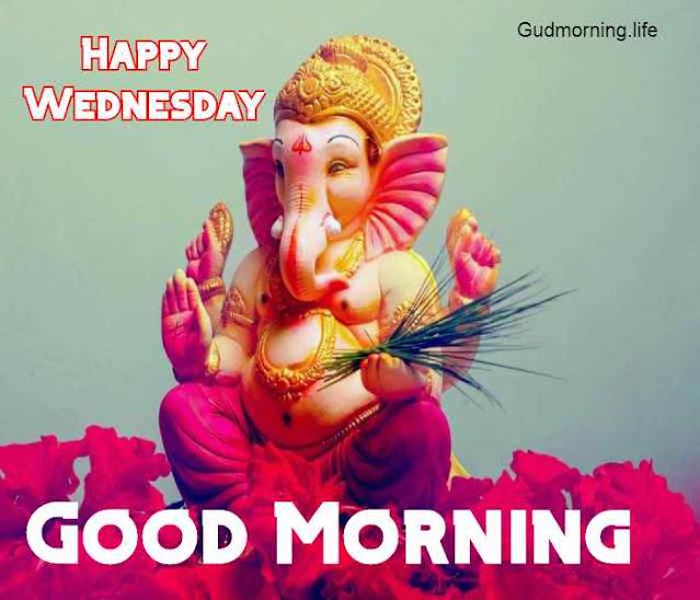 Shree ganesh good morning images