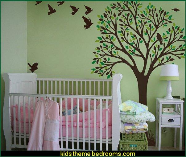 Maries Manor: Tree Murals
