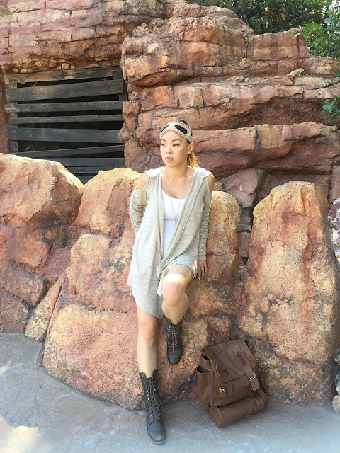 Disneybound Rey Force Awakens Star Wars - wendyprettylittlethings.blogspot.com