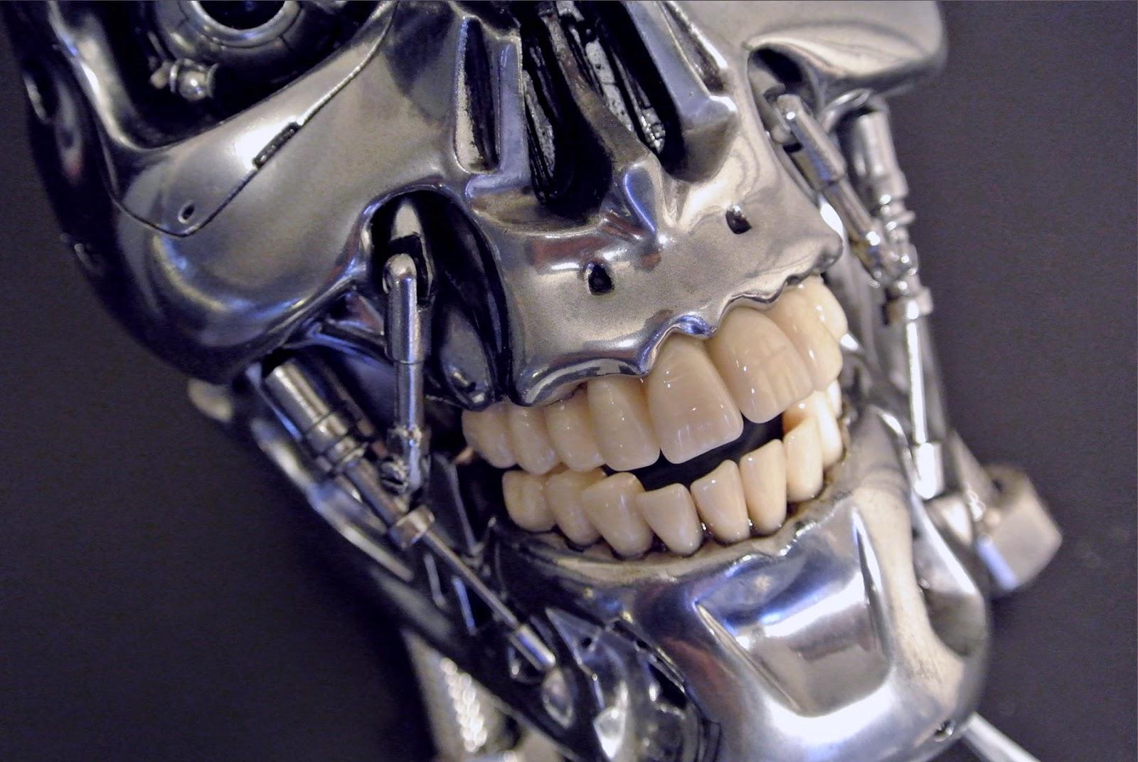 T800 101 Building A Terminator Endo Skull June 2014