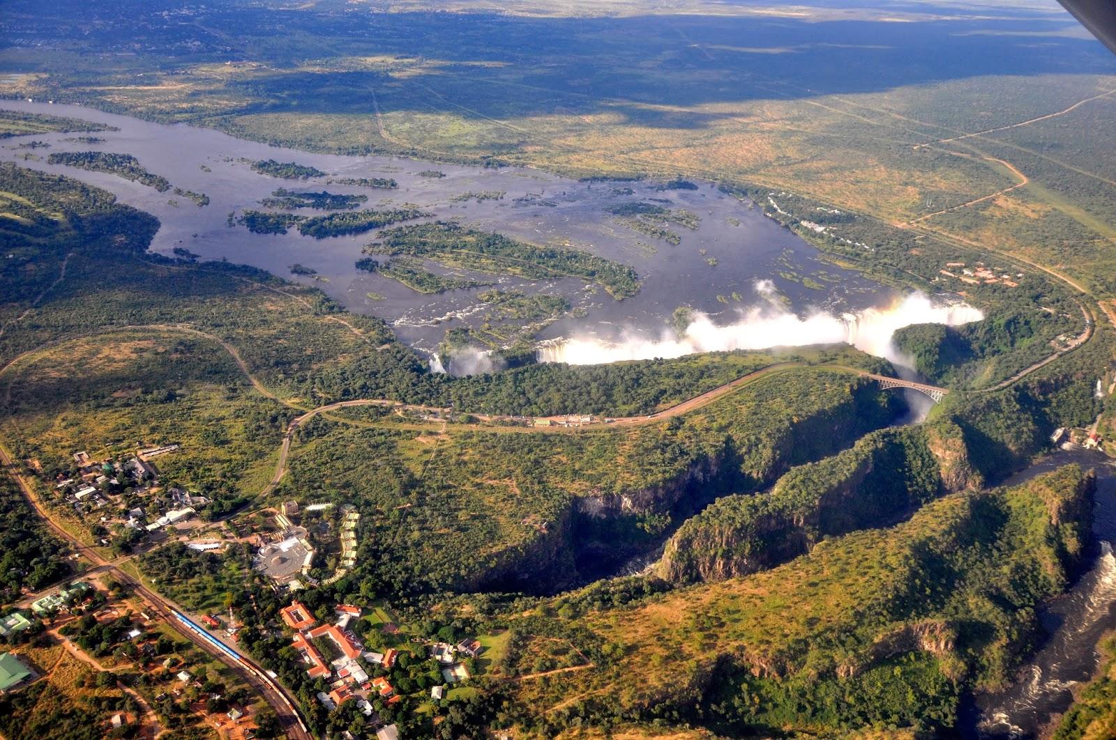 Rio Zambeze na África