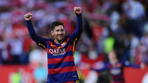 Five-time Ballon d'Or winner Lionel Messi