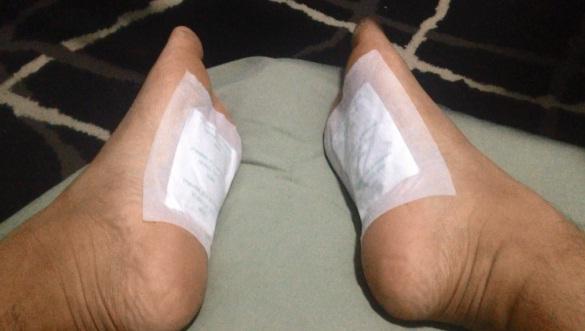 Detox cleansing foot pads