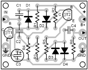 Parts Placement Layout Dyna Audio Compressor