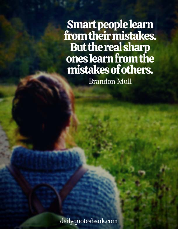 Deep Quotes About Mistakes In Relationships and Realization