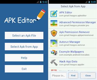 Here I share a very useful application for you who like oprek APK Editor Pro v1.8.20 Full Apk Terbaru